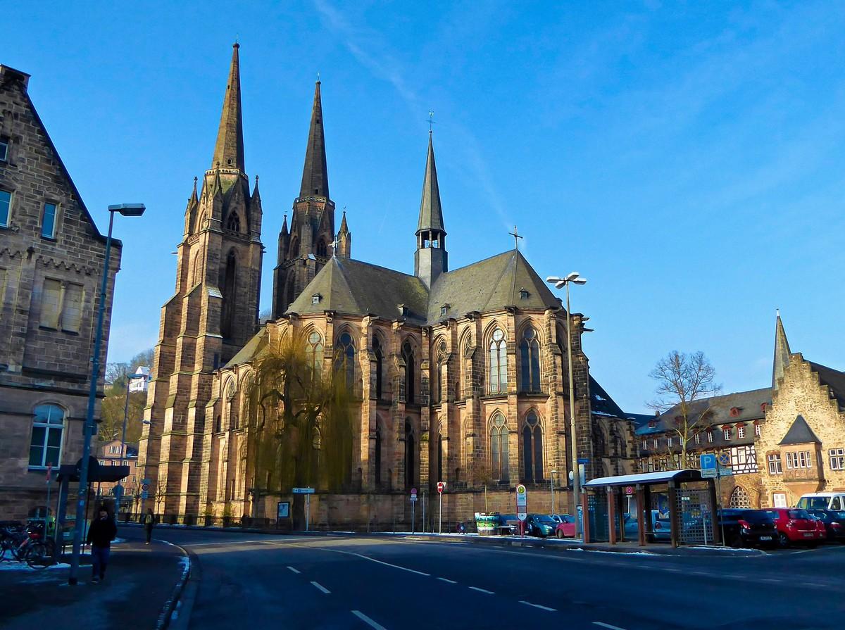 Elisabethkirche Marburg Marburg In Hessen